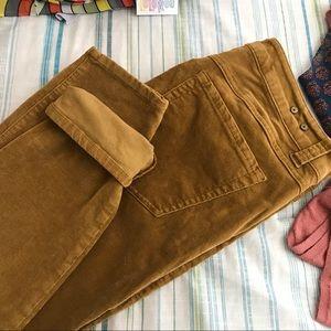 Cabi Skinny Cords Jeans